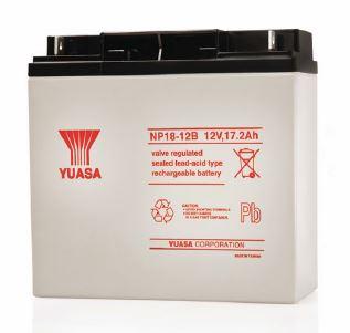 12v 18ah Battery >> Yuasa NP18-12BFR NP Series 12V 18AH VRLA Battery