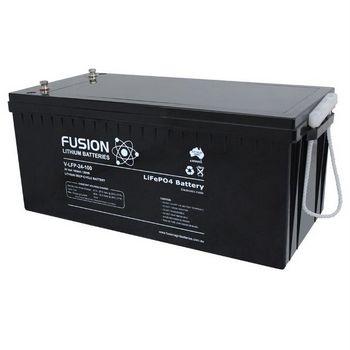 Fusion V Lfp 24 100 24v 100ah Lithium Deep Cycle Lifepo4